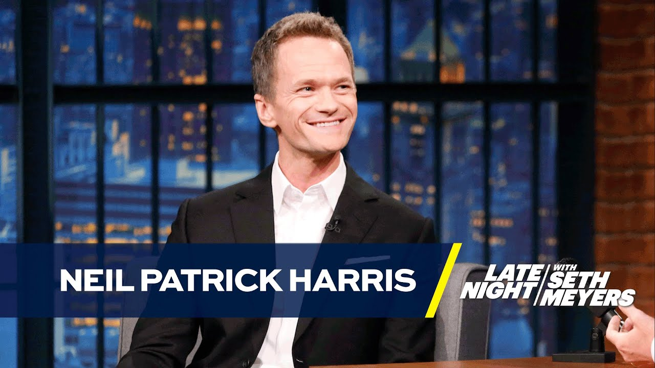 Neil Patrick Harris' Family Is Serious about Halloween - YouTube