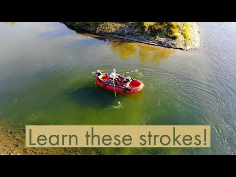 Basic Rowing Techniques | Rowing For Fishing | Fly Fishing Tips