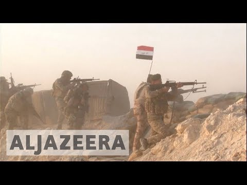 Iraqi forces launch offensive to retake two ISIL-held towns