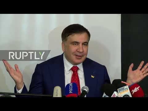 Poland: Saakashvili threatens to 'break necks' of Ukrainian oligarchs