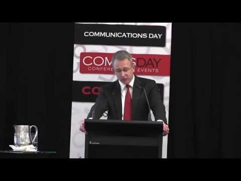 Paul Fletcher MP Speech To CommsDay NBN Rebooted Conference