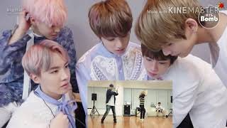 BTS reaction to SNSD HYOYEON Dance Practice FMV