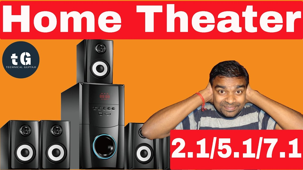 Home Theater 21 51 71 Explain What Is The Difference Between 7 1 Wiring Diagram Youtube Premium