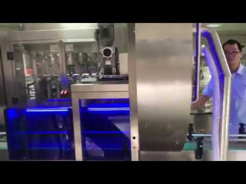 Automatic blow cleaning UV sterilizer 2 in 1 equipment for cans