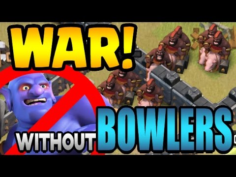 Clash of Clans: TH9 GROUND WAR ATTACKS without BOWLERS