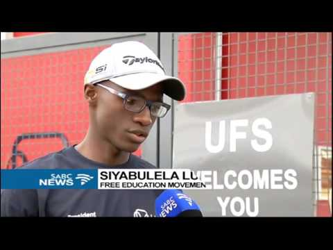 UFS students march to provincial government concluded: Mbali Sibanyoni