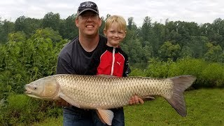 Fishing for Grass Carp - How to catch grass carp - Carp fishing tips and techniques