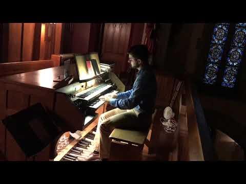 Organ Improvisation on Veni Creator Spiritus, Patrick Torsell at St. Lawrence Chapel, Harrisburg, PA