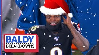Xmas Came Early for MVP-Frontrunner Lamar Jackson! | Baldy Breakdowns