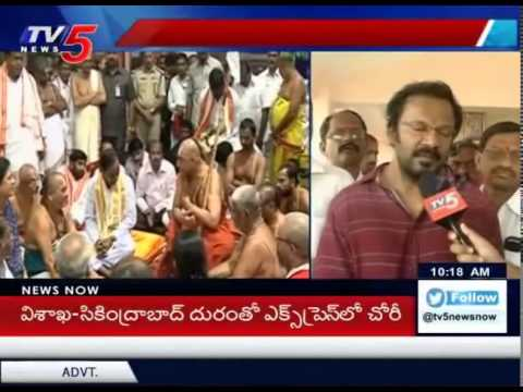 Face of Yadagirigutta to Soon Change, Interview With Its Architect : TV5 News
