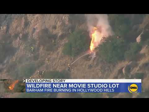 Wildfires In California Spread Dangerously Close To Hollywood