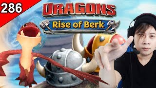 Spitelout's Dragon, Kingstail! Snotlout's Father! | Dragons: Rise of Berk [Episode 286]