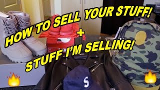 EASIEST WAY TO SELL YOUR STUFF ON EBAY + SNEAKERS/CLOTHES I M SELLING!