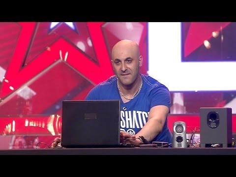Supertalent 2013 DJ Salvatore Maniscalco Floppt Beim Casting