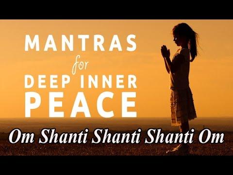 Mantra | Om Shanti Shanti Shanti | ॐ Om Shanti Shanti Shanti Om ॐ | Peace Mantra