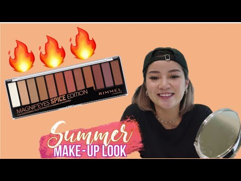 NAOMI NEO'S SUMMER MAKE-UP LOOK | RIMMEL's 12 PAN MAGNIFEYES SPICE EDITION PALETTE