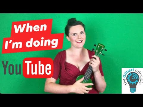 """""""When I'm doing YouTube"""" Parody song about being a YouTuber"""