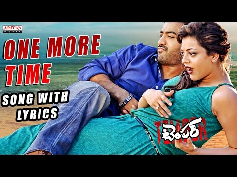 Temper Full Song With Lyrics - One More Time Song - Jr. NTR, Kajal Aggarwal, Anoop Rubens