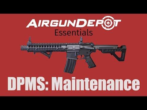 Crosman DPMS SBR: How to Maintain Your Airgun
