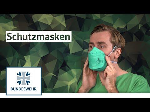 Corona | Atemschutzmasken - Wie du sie richtig nutzt | Bundeswehr