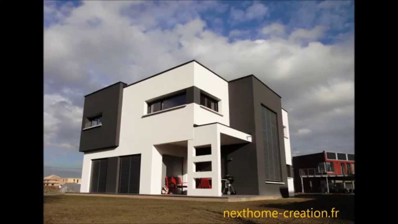 Nexthome cr ation maison d 39 architecte toit plat et for Architecture contemporaine maison individuelle