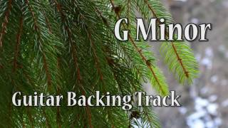 Rock Guitar Backing Track in G Minor (71 bpm)
