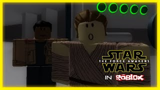 Star Wars - The Force Awakens Official Trailer (In ROBLOX)