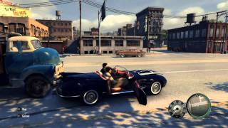 Mafia 2 [PC] - Fun Crazy Driving with Potomac Elysium (HD)