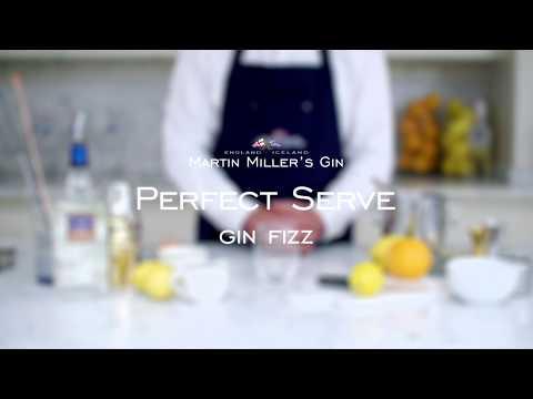 Martin Miller's Gin Gin Fizz Perfect Serve