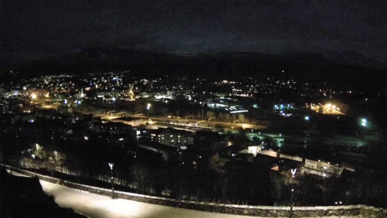 Knin, Croatia - Live panorama view