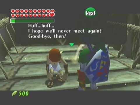 Zelda: Ocarina Of Time / MQ. I Beat The Running Man.