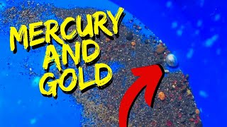 Finding MERCURY & GOLD At The SECRET SPOT With The Gold Panners