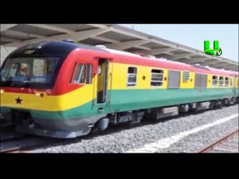 Railway development would transform Ghana's economy