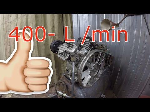 мощный компрессор в гараж своими руками