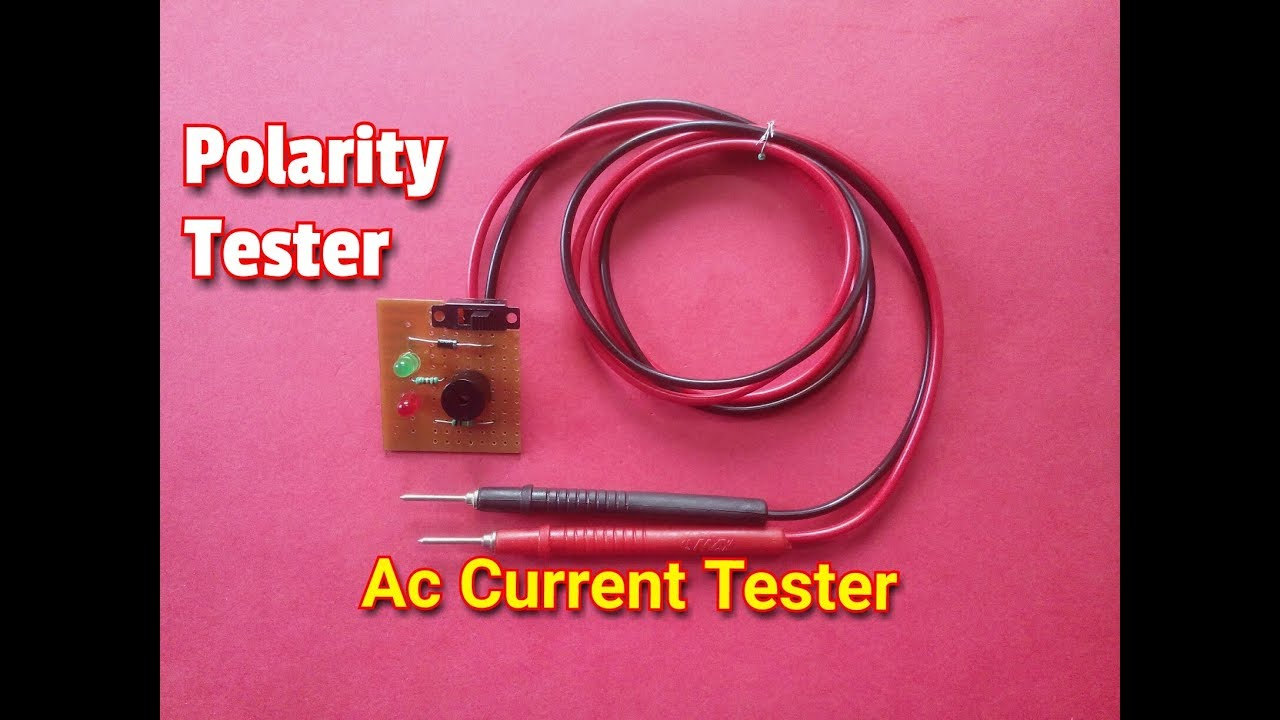 polarity tester circuit and type of current tester with ac. Black Bedroom Furniture Sets. Home Design Ideas
