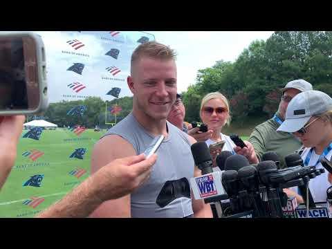 Full Christian McCaffrey Post Training Camp Practice Interview 7/31/19