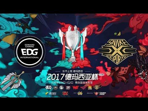 【德瑪西亞杯冬季賽】決賽 EDG vs SNAKE #1