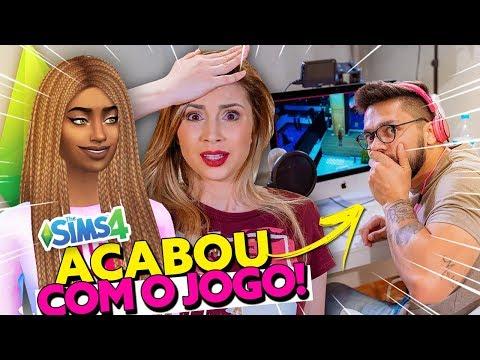 MEU NAMORADO INVADIU MEU JOGO E MUDOU TUDO ? | The Sims 4 - Ep. 8 thumbnail