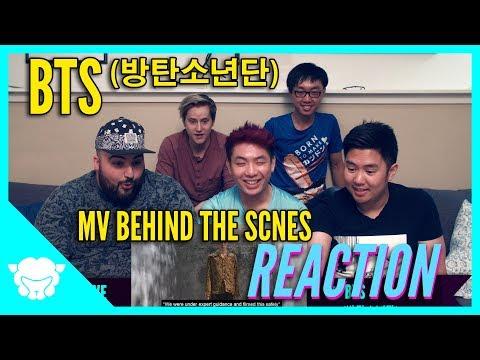 Non-Kpop fans REACT to BTS (방탄소년단)  - Behind the Scenes MV Fake Love & Mic Drop