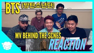 Non-Kpop fans REACT to BTS (방탄소년단)  - Behind the Scenes MV Fake Love & Mic Drop