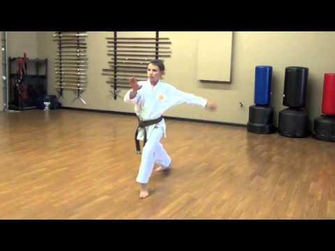 Lincoln Budokan, Bassai Sho Kenkojuku Shotokan Karate