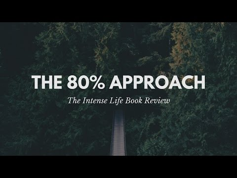 Intense Book Review: The 80% Approach by Dan Sullivan