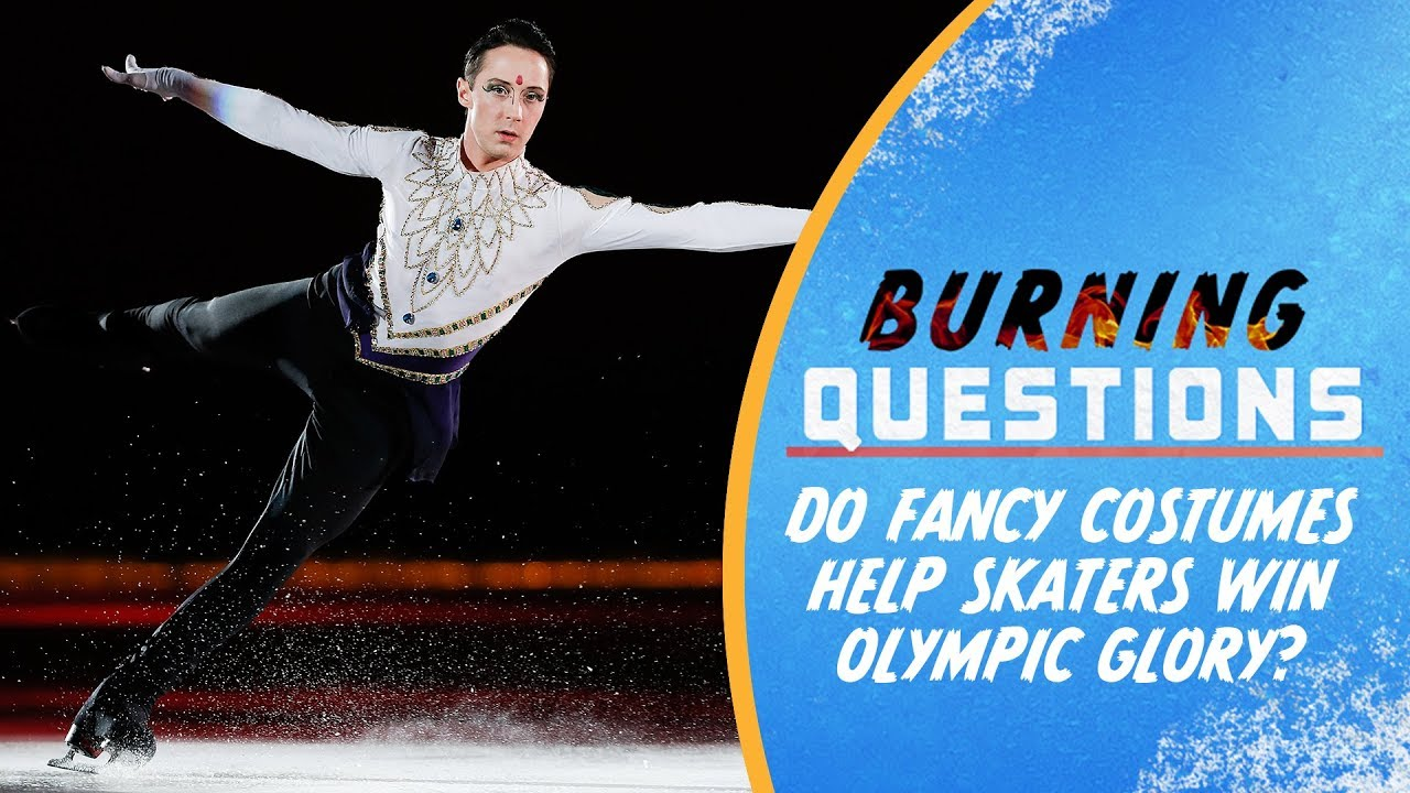 Do fancy costumes help Skaters win Olympic Glory ...
