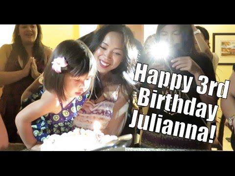 JB's 3rd Birthday Celebration in Hawaii! - October 17, 2015 -  ItsJudysLife Vlogs