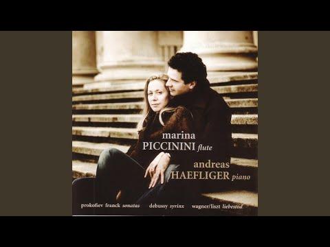 Violin Sonata in A major: I. Allegretto ben moderato