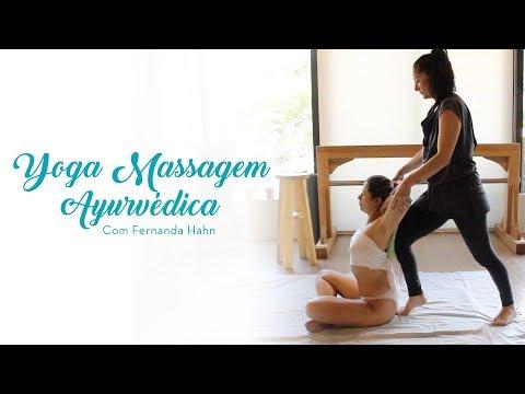 Yoga e massagem ayurvédica integradas
