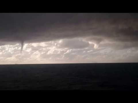 2 tornadoes in same time near Otranto strait