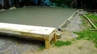 Garage Part. 1 - Concrete Slab