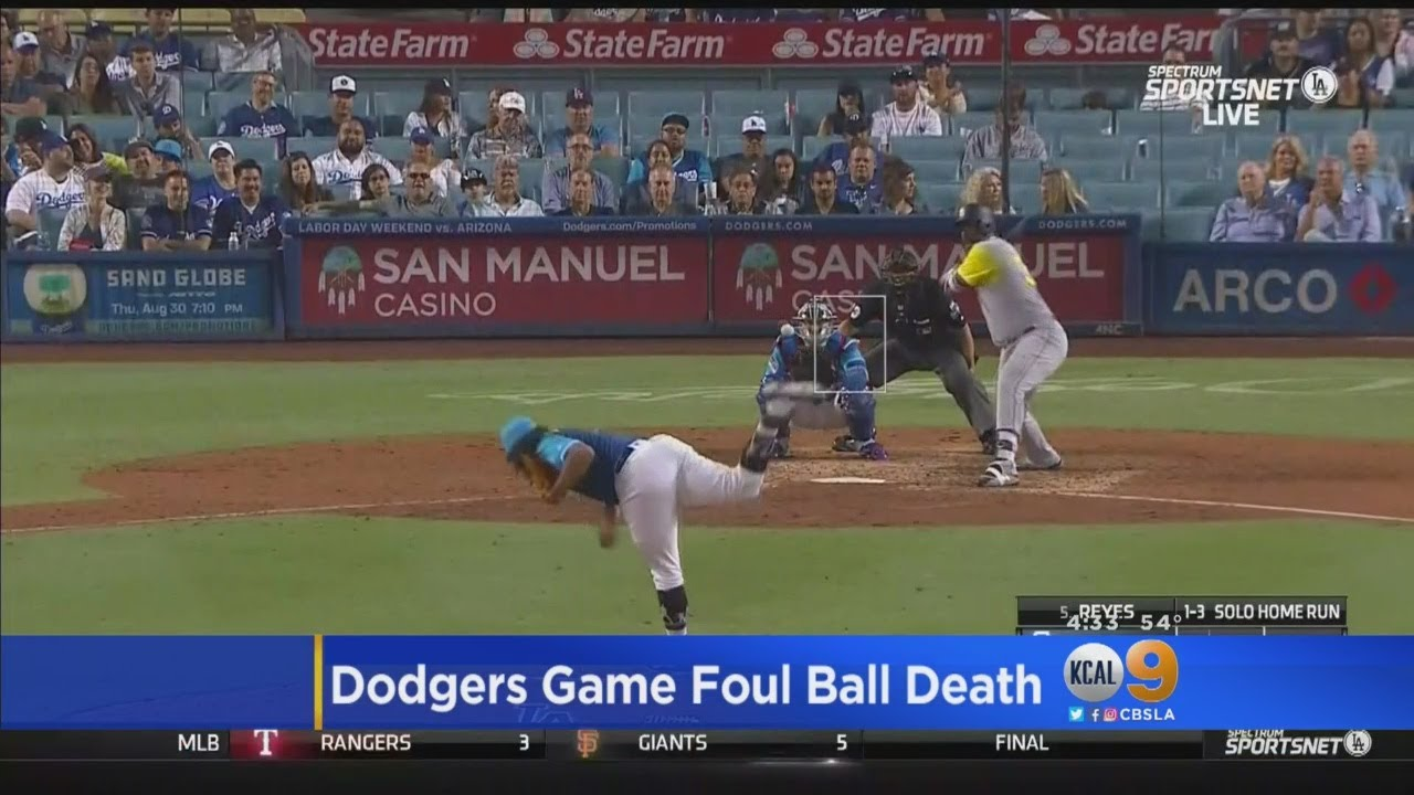 Dodgers 'Deeply Saddened' By Death Of Woman Hit By Foul Ball At Dodger  Stadium