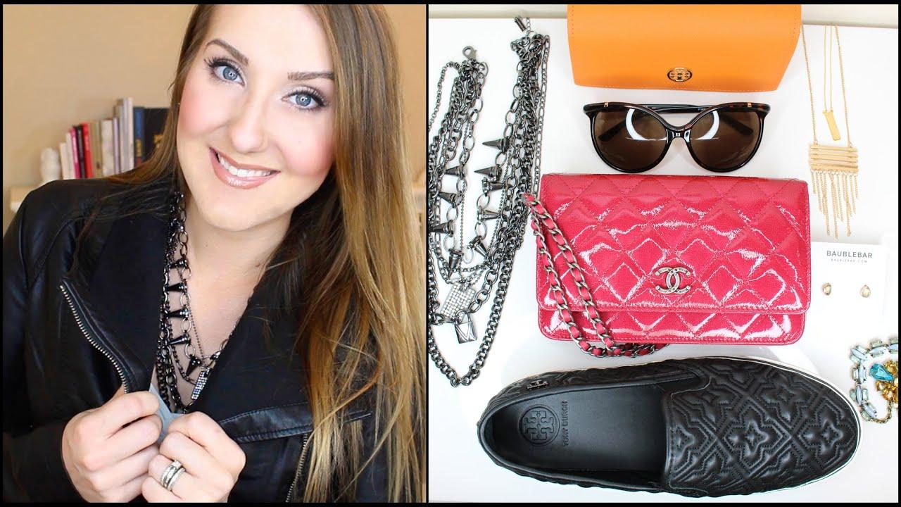 Fall Fashion & Accessories HAUL! Baublebar | Chanel | Tory Burch | Target